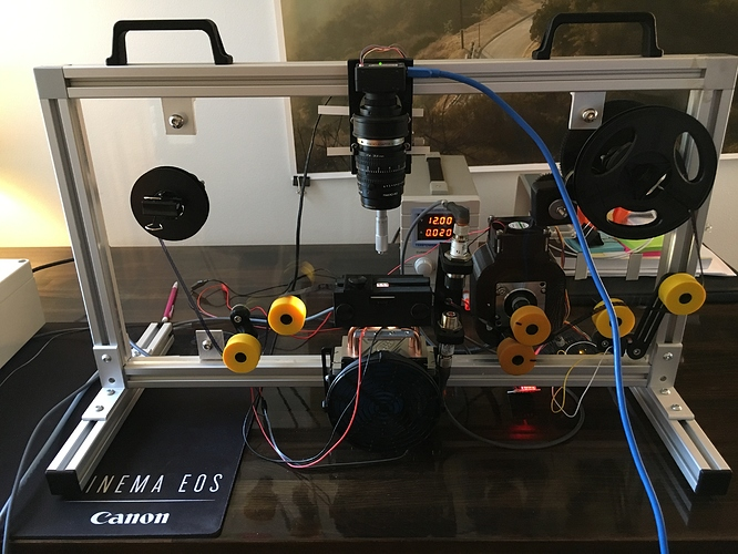 Yet another 8/S8 scanner build! - Machine Design - Kinograph Forums